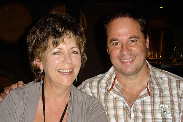 Julie Biuso and Paul Mercurio
