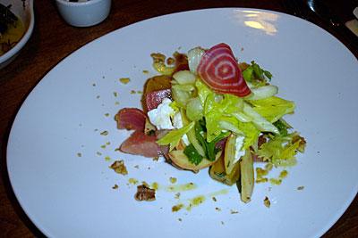 Rustic Canyon - roasted baby beet salad