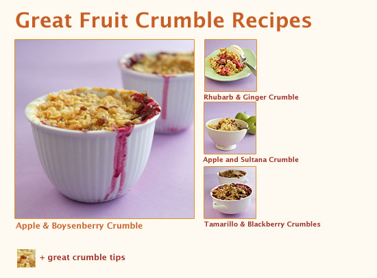 Great Fruit Crumbles